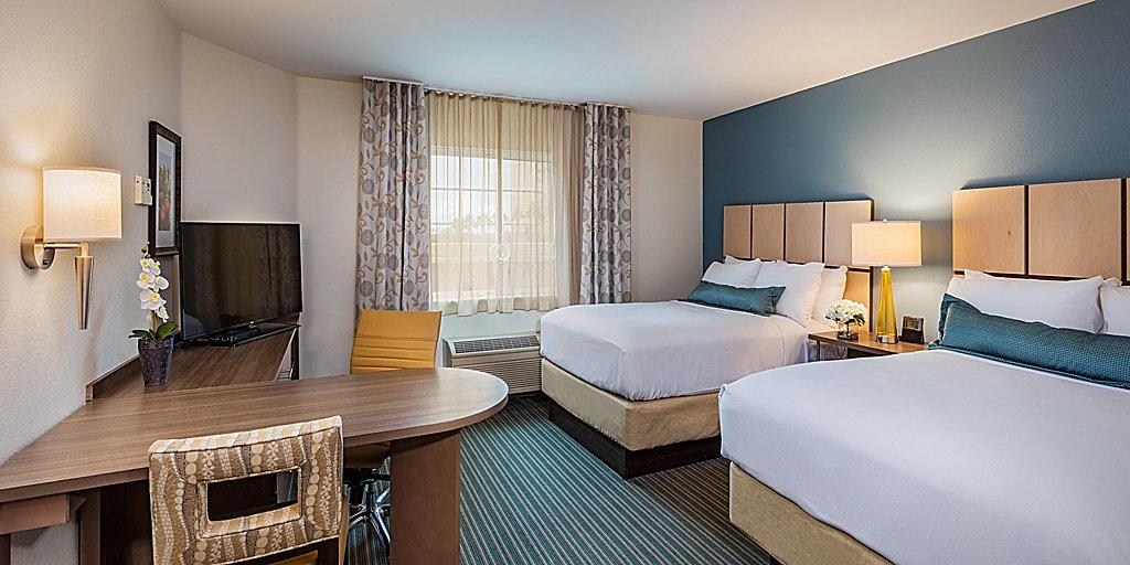Candlewood Suites Anaheim Resort Area Room Pictures Amenities
