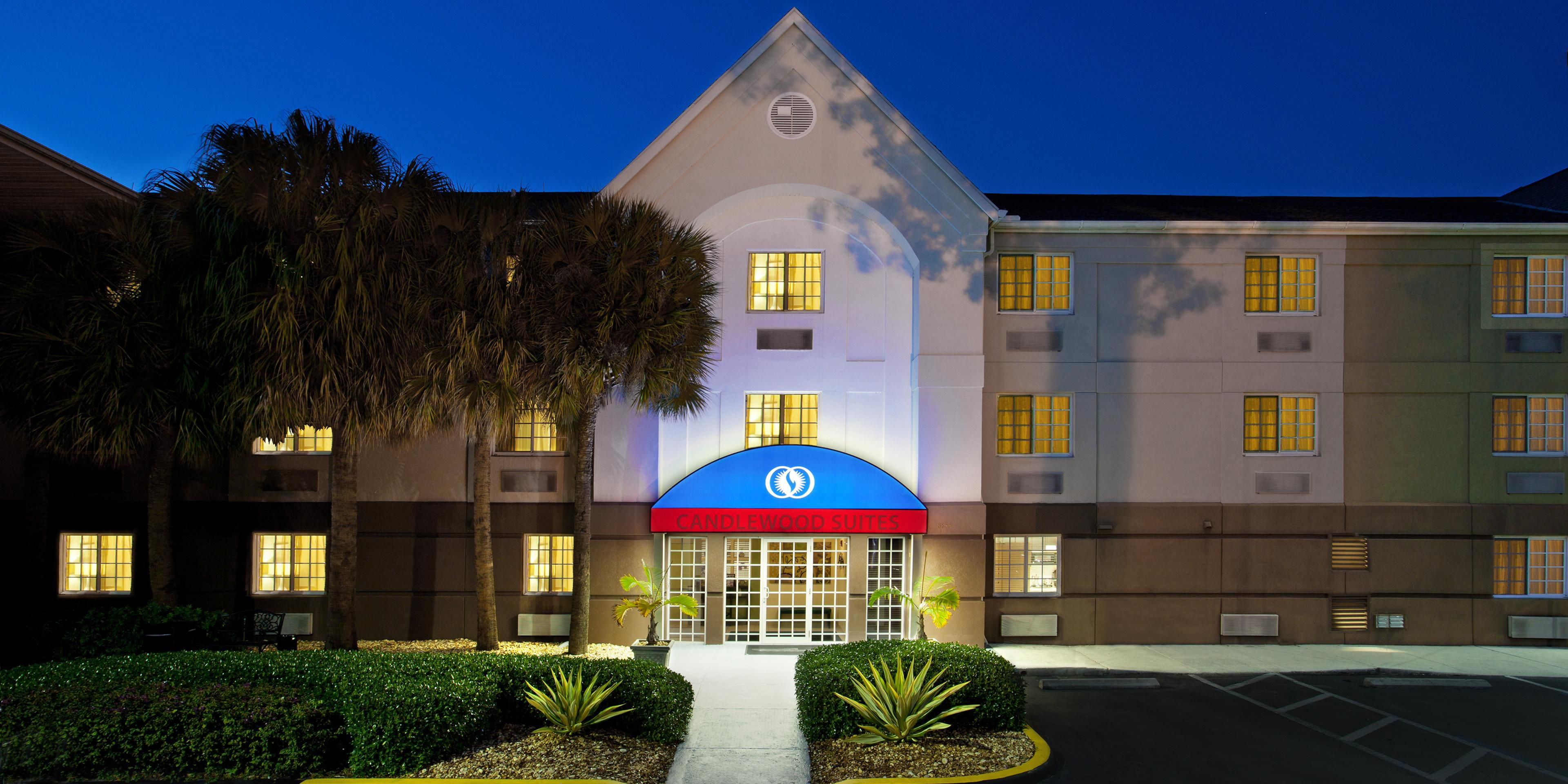 candlewood suites miami airport - doral map & driving