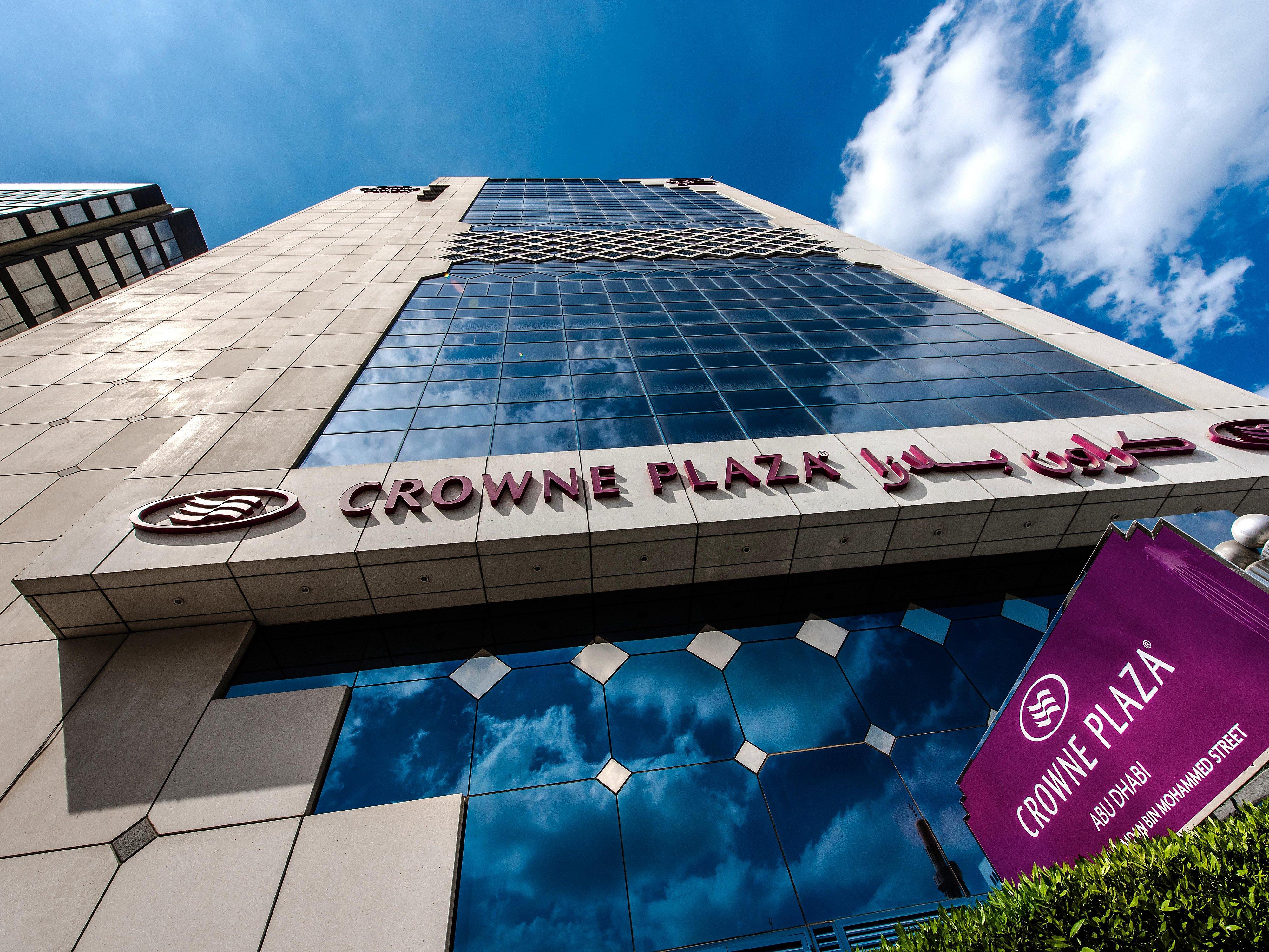 Business Hotel In Abu Dhabi Crowne Plaza Abu Dhabi Hotel