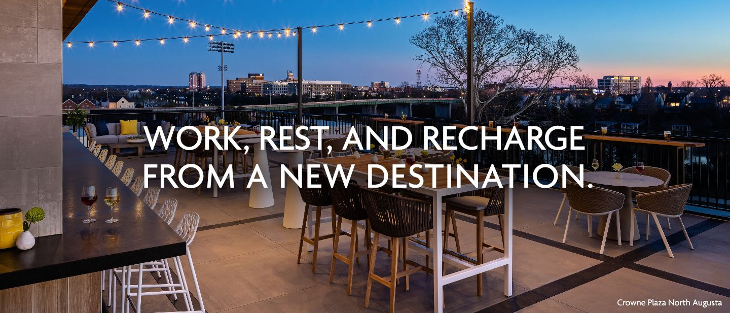 Work, rest, and recharge from a new destination.