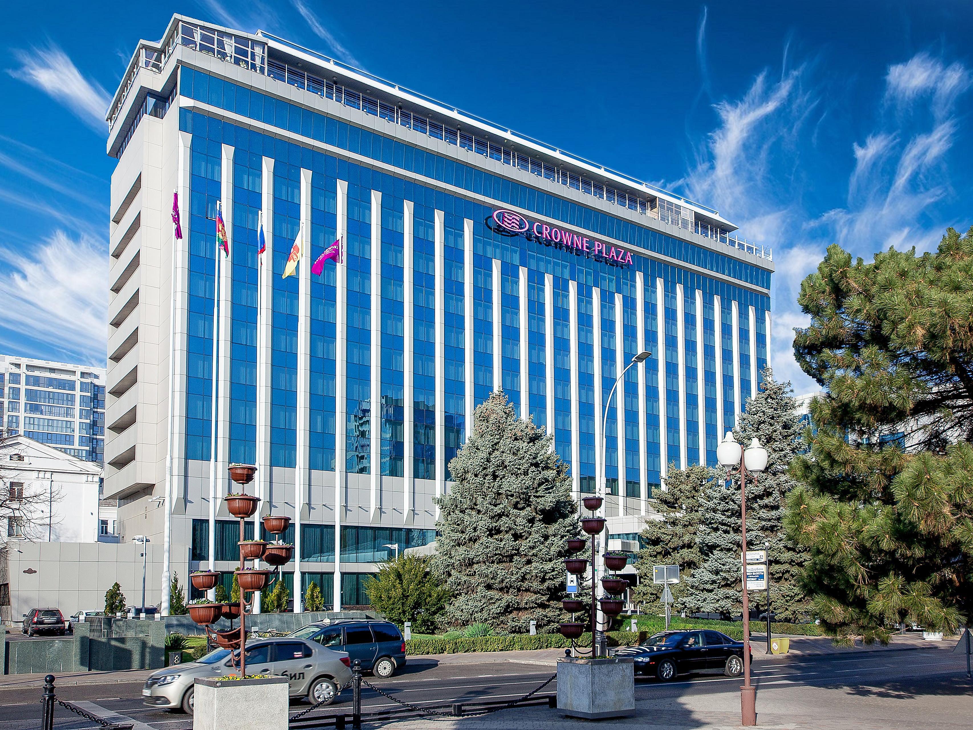 Business Hotel In Krasnodar Crowne Plaza Krasnodar Centre Hotel