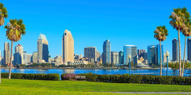 View hotels in San Diego