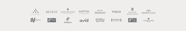 IHG Hotels & Resorts brands