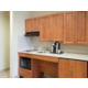 Holiday Inn Express Guest Room Kitchenette