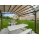 Outdoor Gazebo and Grill area