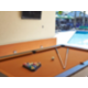 Outdoor Pool Table Area by Swimming Pool Building 678