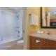 One Queen Bed Studio Suite Bathroom- Newgarden