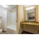 Guest Bathroom in the Magnolia building.