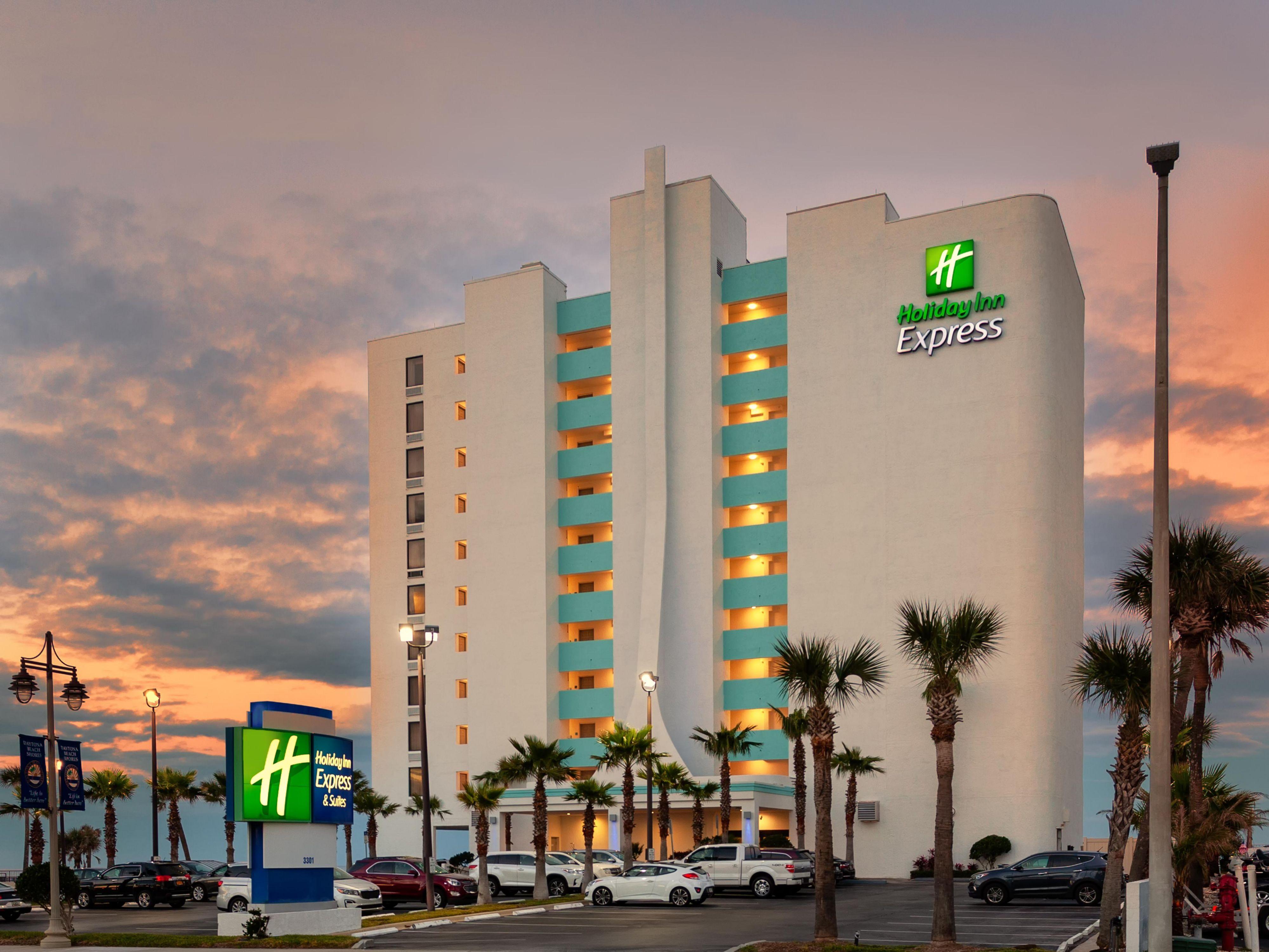 Daytona Beach Hotel Holiday Inn Express Suites Oceanfront Daytona Bch Shores