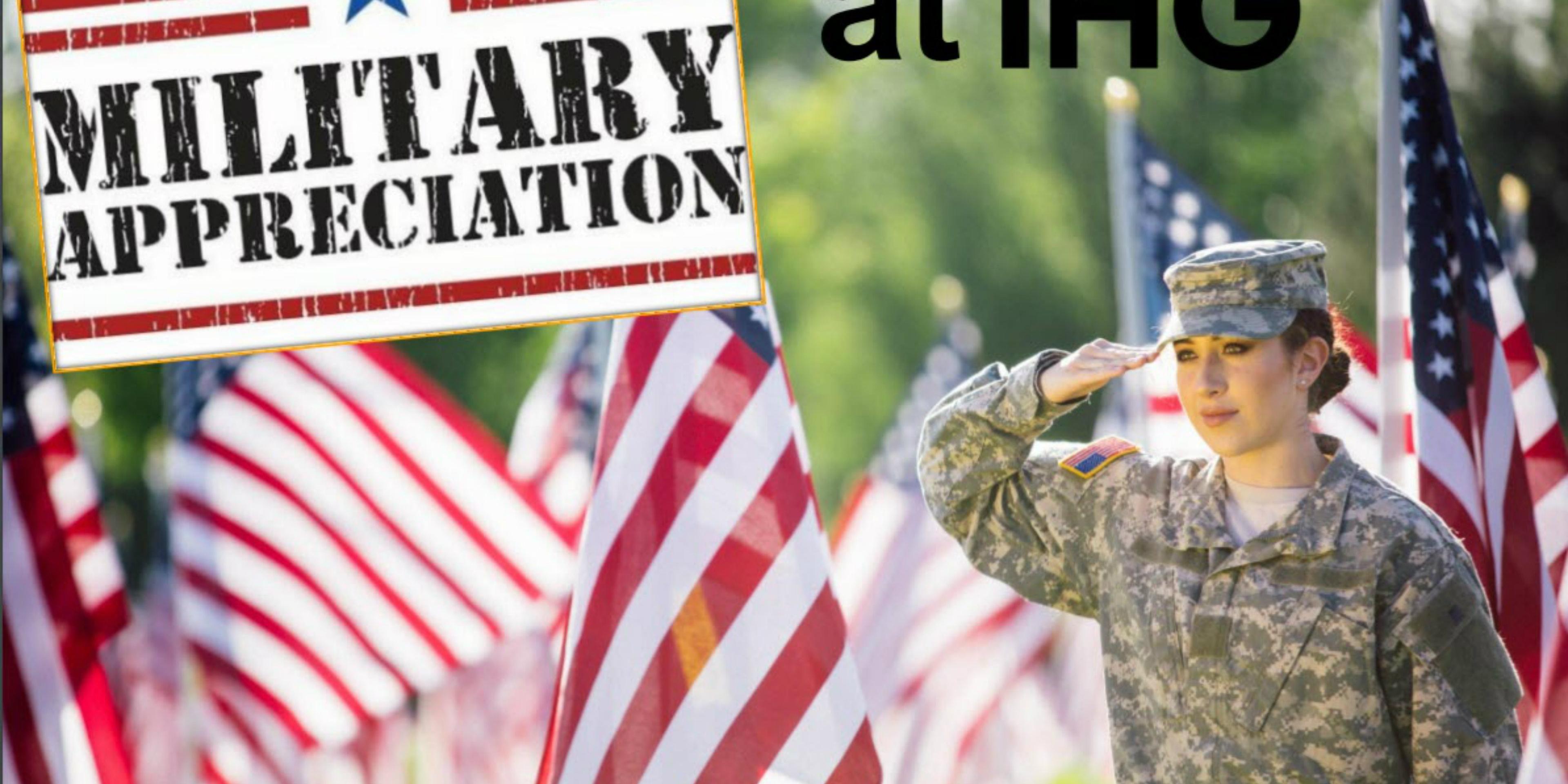 12 Military Appreciation Discount