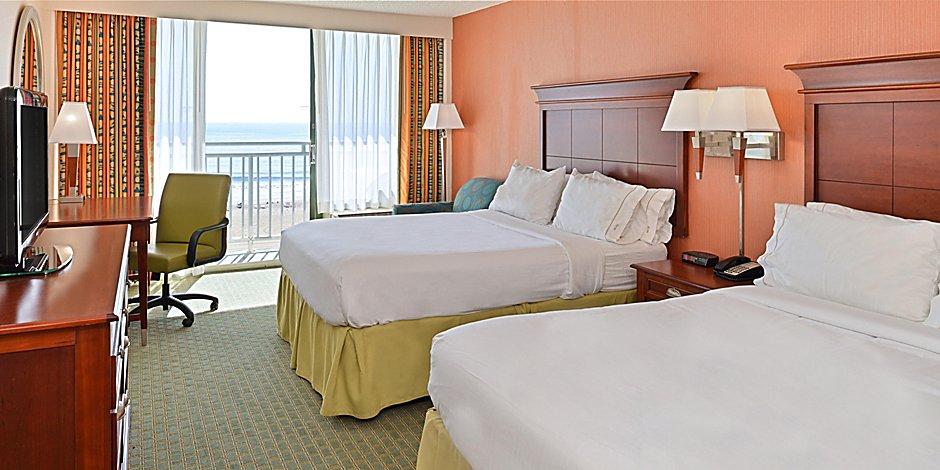 Virginia Beach Oceanfront Hotels Holiday Inn Express Suites Va Beach Oceanfront