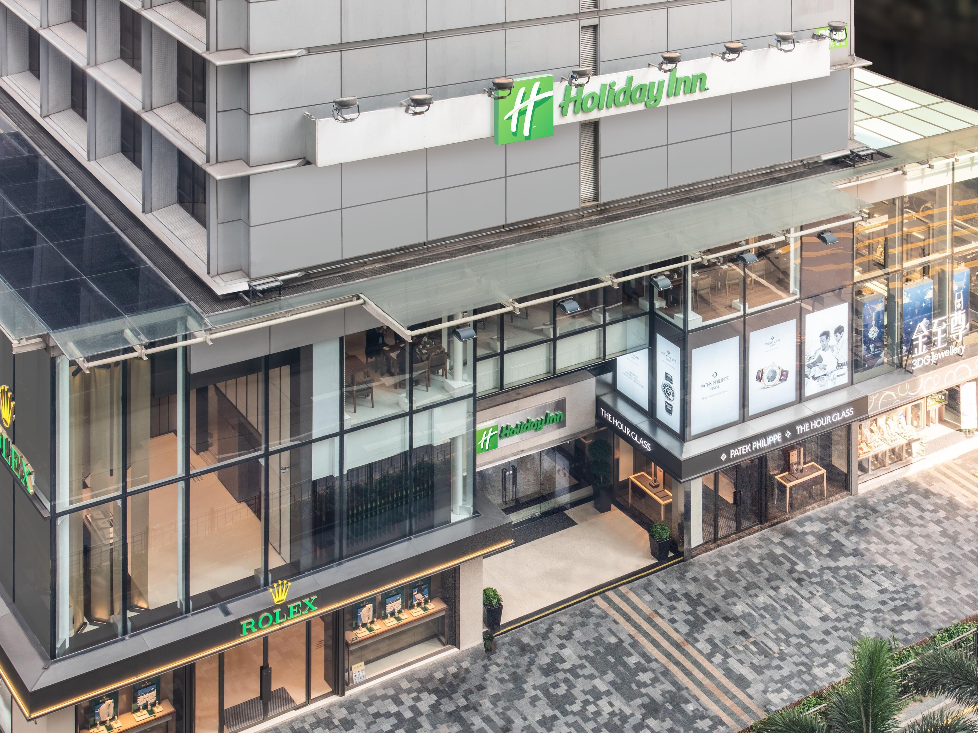 Hotels In Tsim Sha Tsui Kowloon Holiday Inn Golden Mile Hong Kong