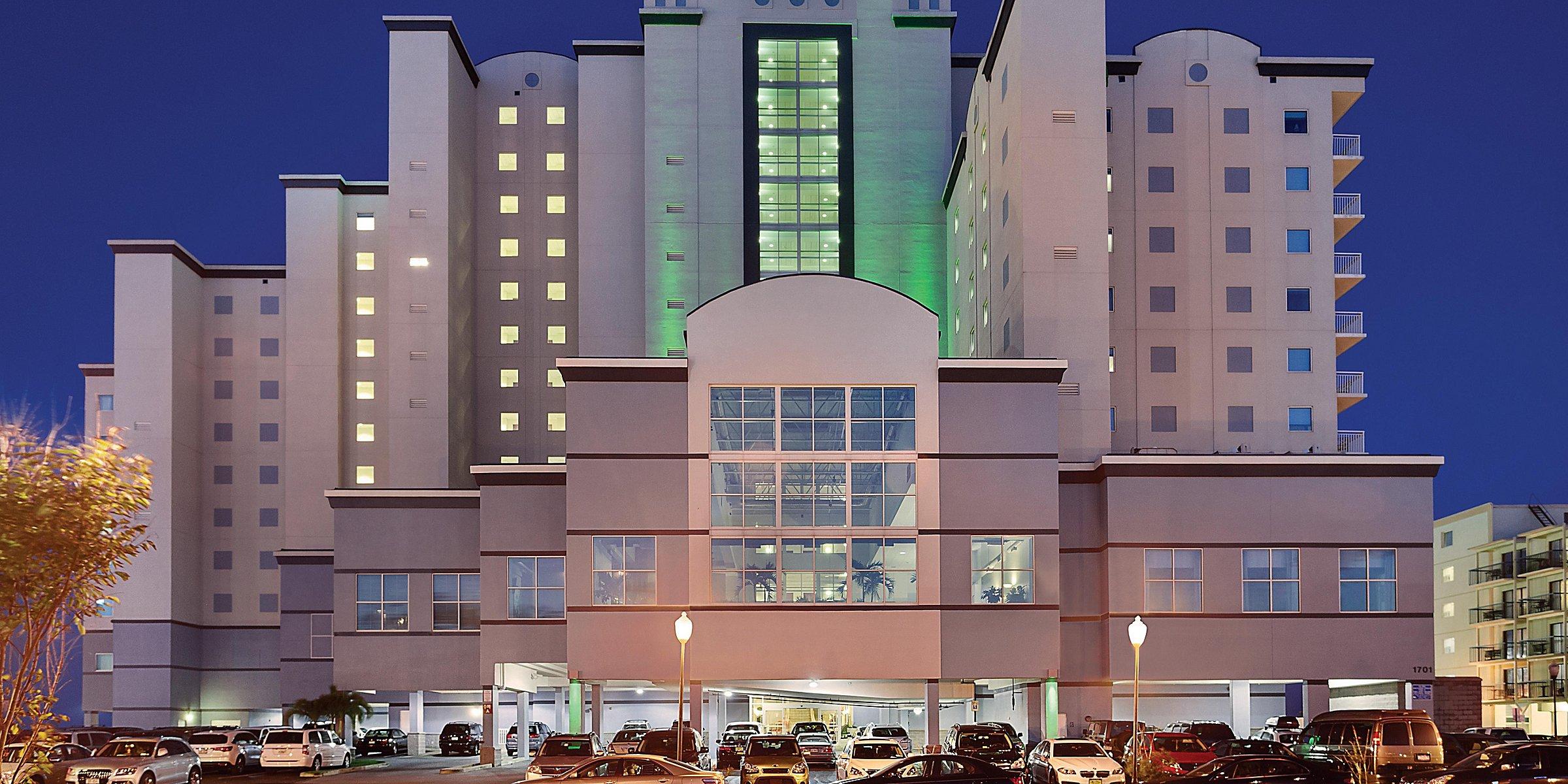 Ocean City Maryland Beach Hotel Holiday Inn Suites Ocean City