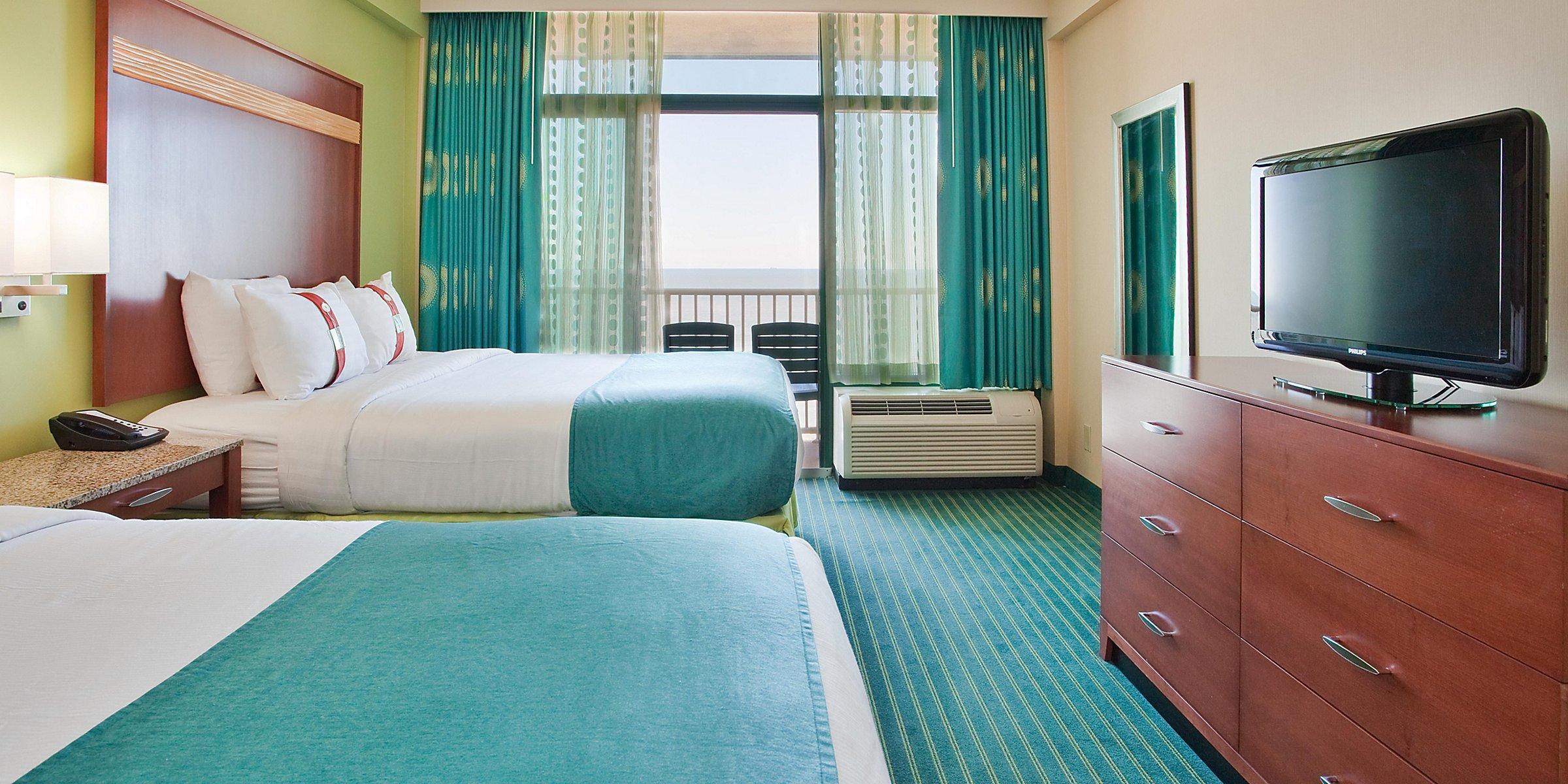 North Virginia Beach Boardwalk Hotels Holiday Inn Suites Virginia Beach North Beach