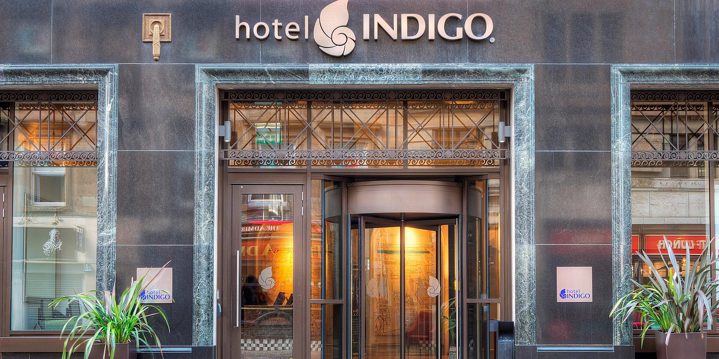 Boutique Hotels in Glasgow Hotel Indigo Glasgow
