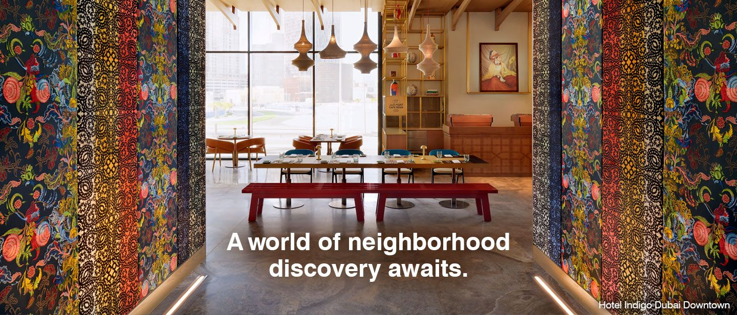 A world of neighborhood discovery awaits.