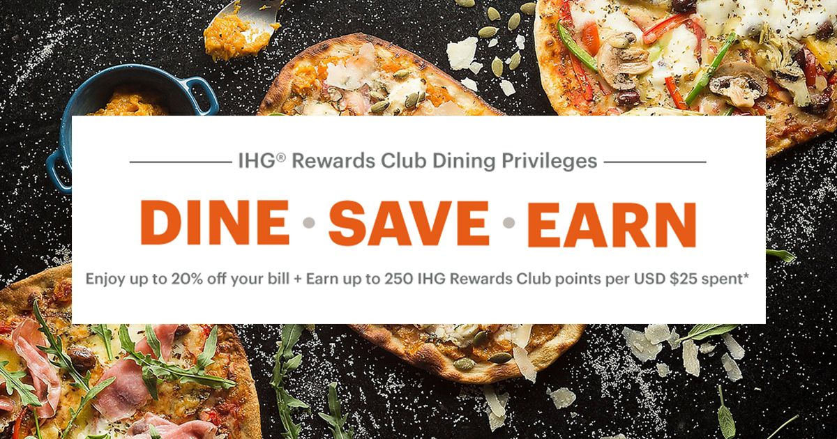 Ihg Rewards Dining Privileges