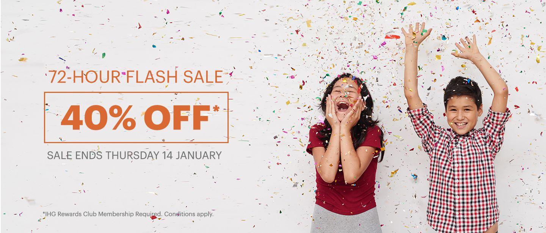Flash Sale IHG 40% | PinterPoin