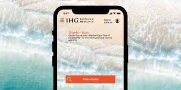 Screenshot of IHG® App