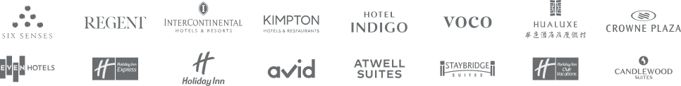 IHG Hotels & Resorts brands