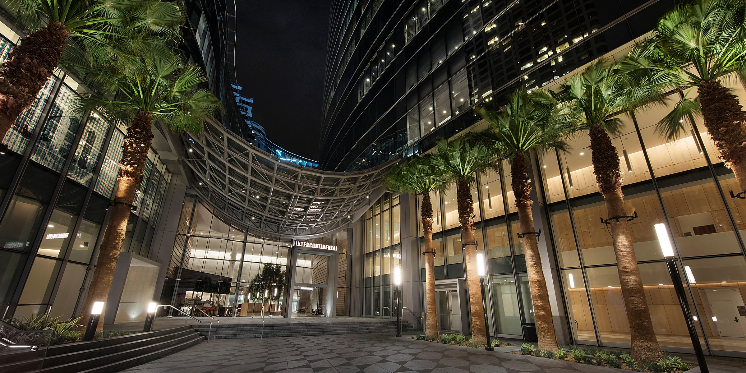 Intercontinental Los Angeles Downtown Luxury Downtown Los Angeles Hotels