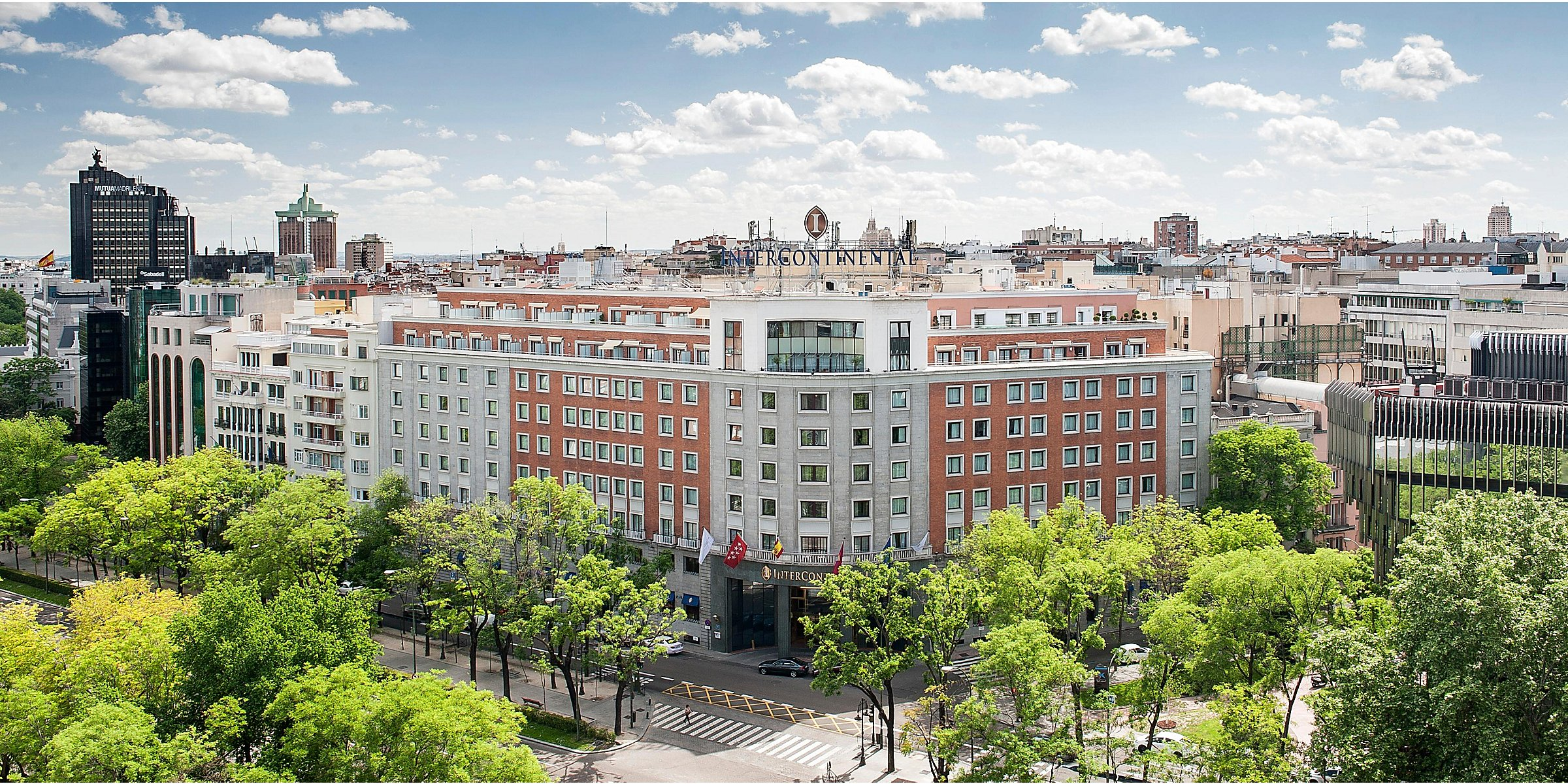 Intercontinental Madrid Luxury Central Madrid Hotel