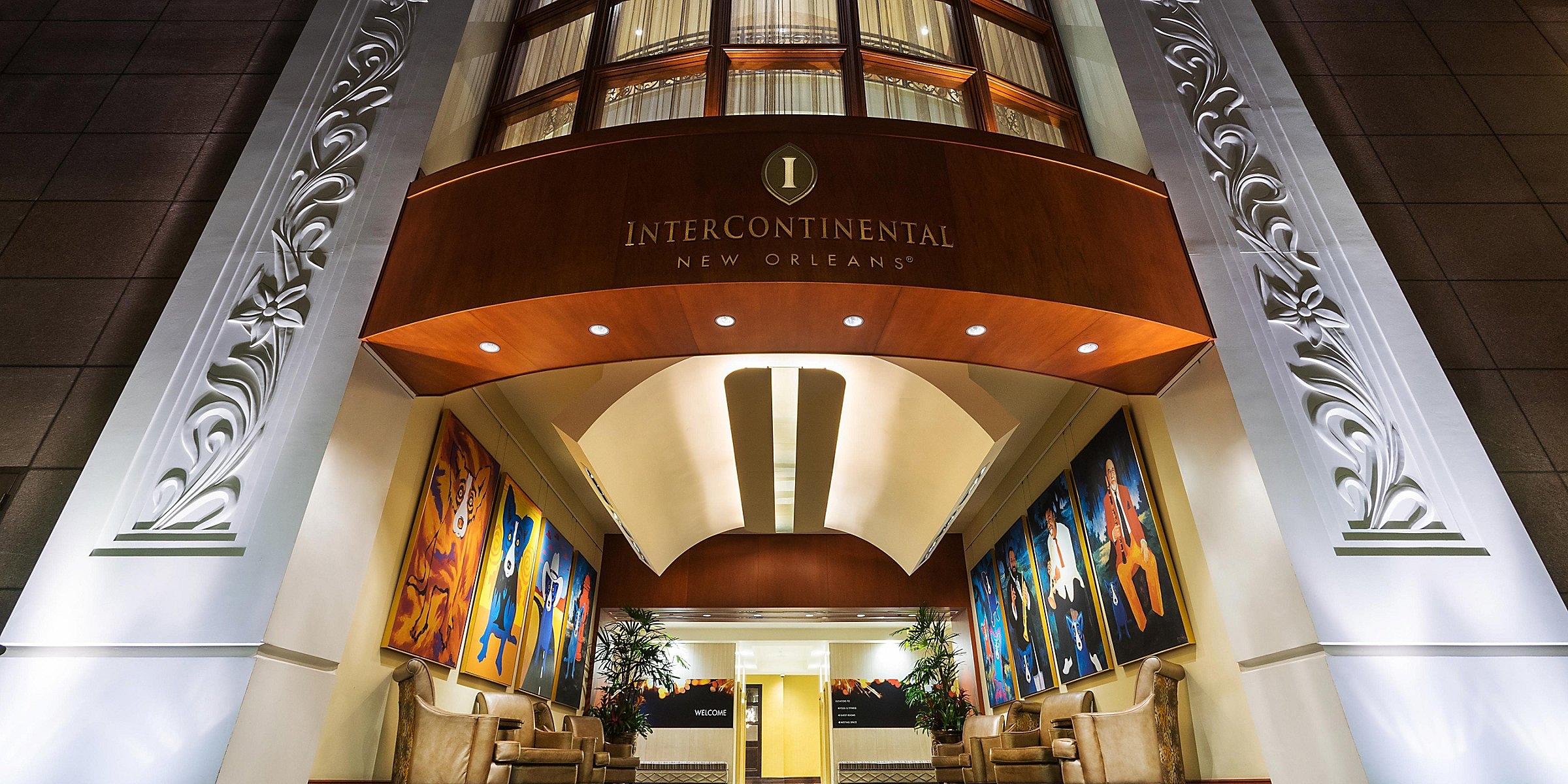 Intercontinental New Orleans Hotels In New Orleans French Quarter