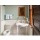 Foulois House, Bldg. 107, Bathroom area