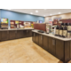 Free daily hot breakfast at the Candlewood Suites hotel on post