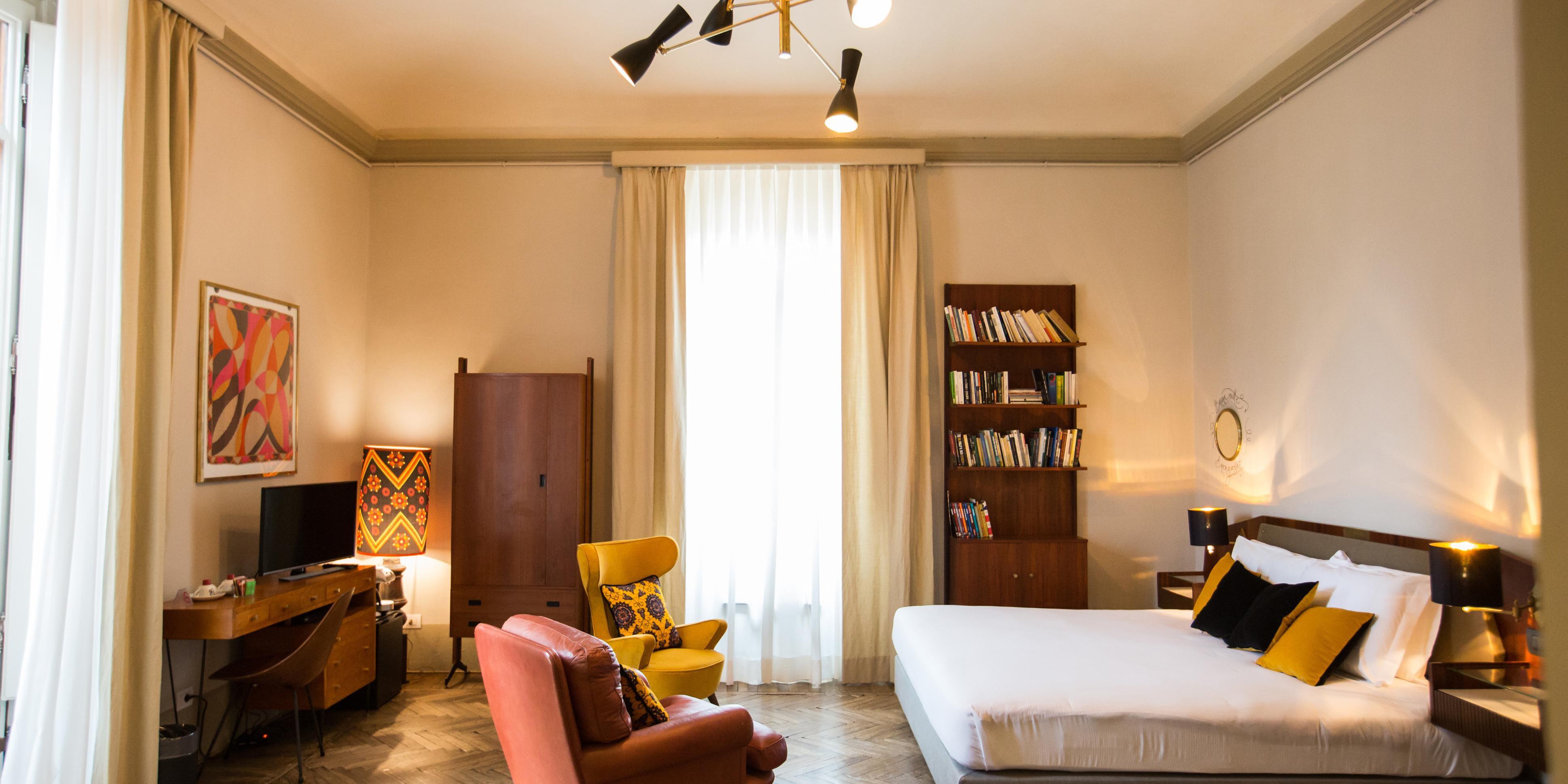 King with Balcony bedroom
