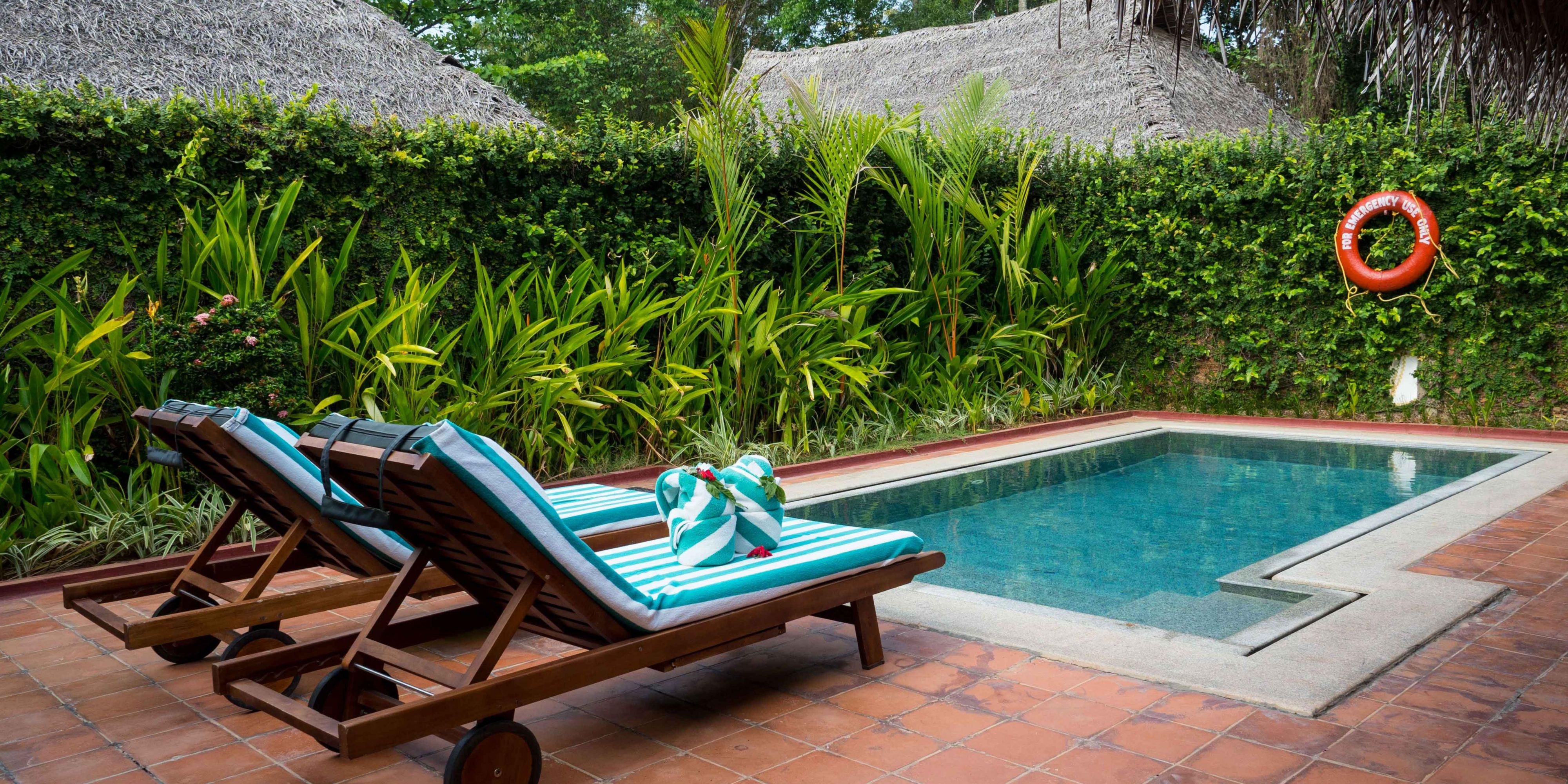 Garden Pool Villa terrace