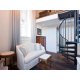 Lofted One Bedroom Suite