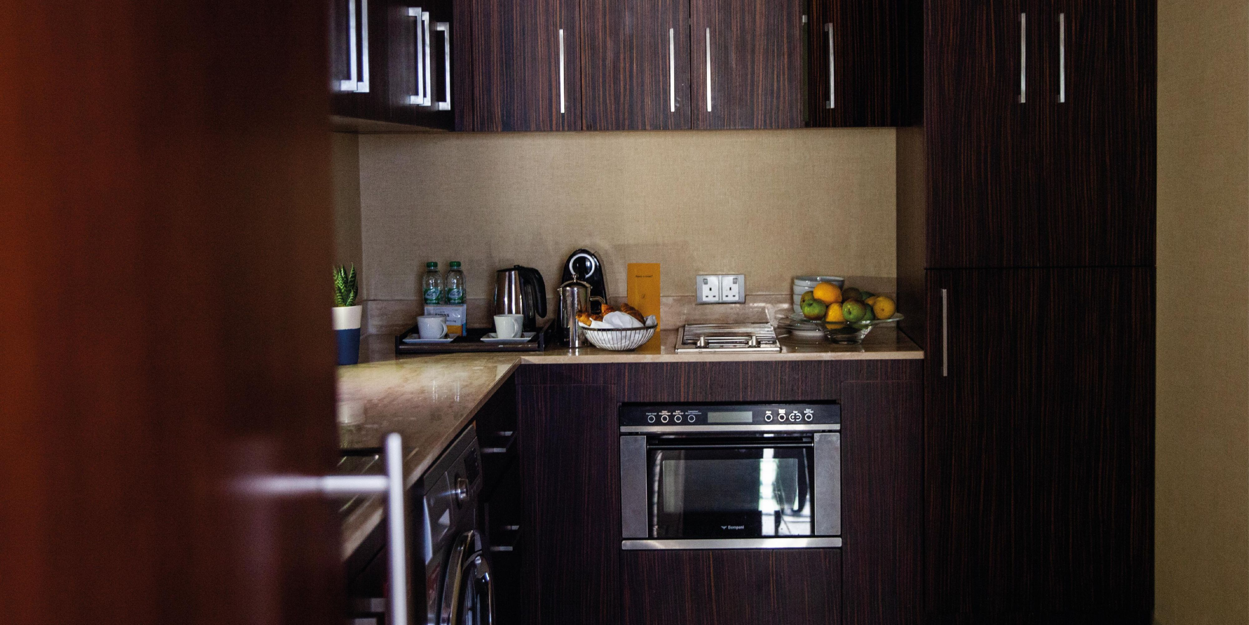 Ambassador Suite with fully equipped kitchen