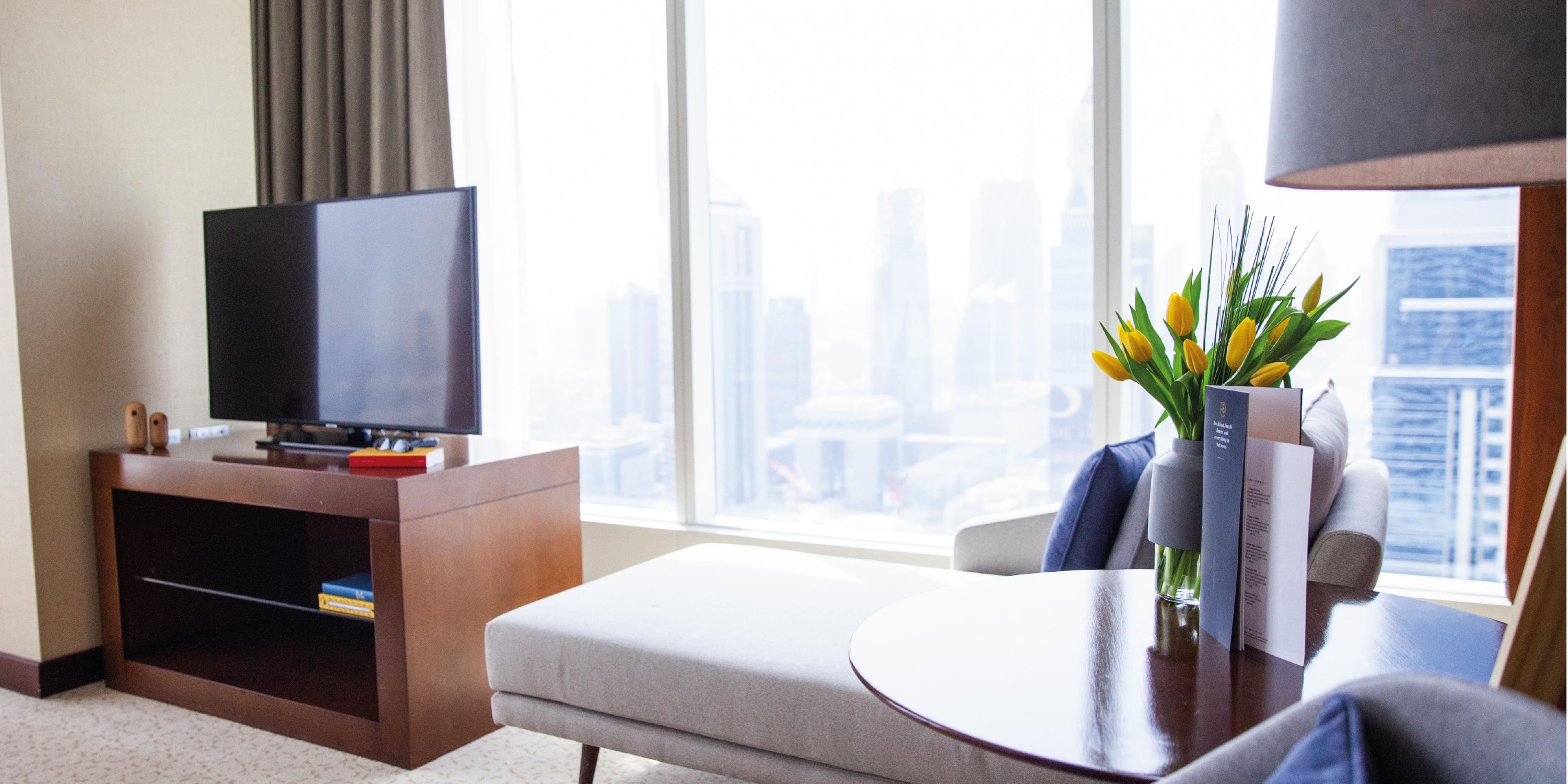 Deluxe Room, city views of Sheikh Zayed Road, Dubai