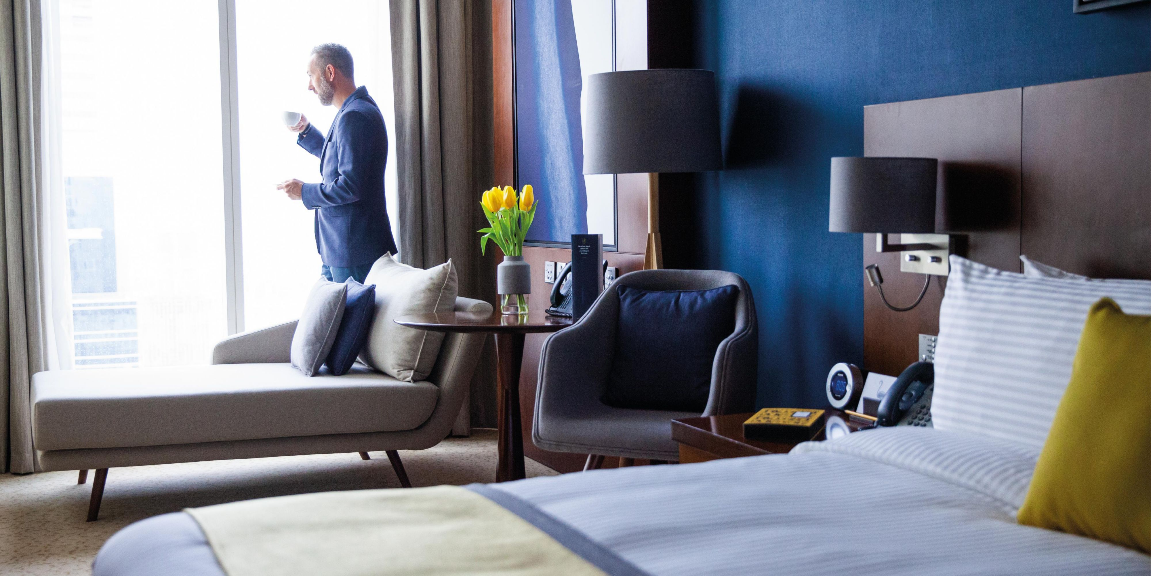 Superior Room, city views of Sheikh Zayed Road, Dubai