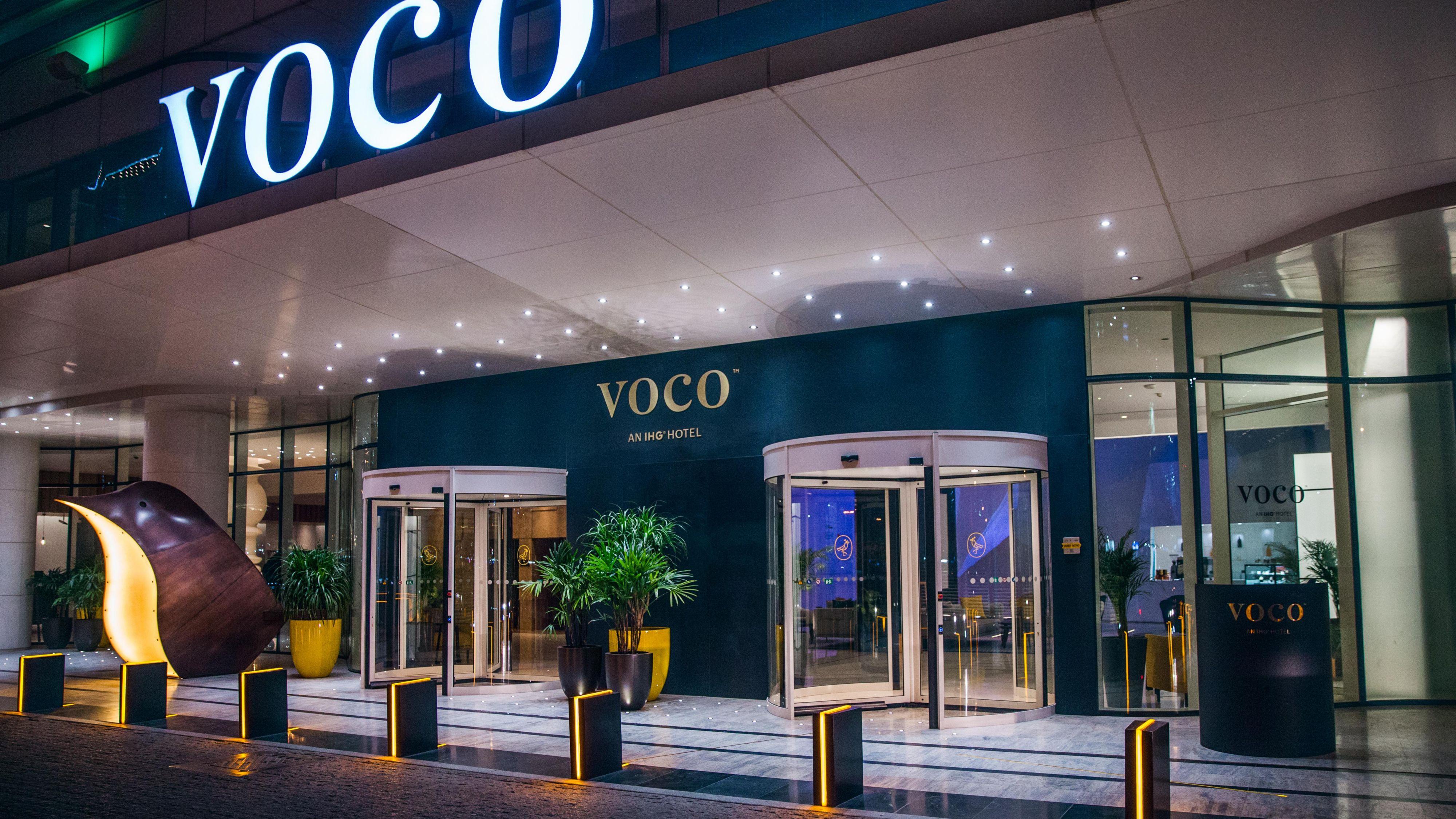 voco Dubai Hotel Exterior