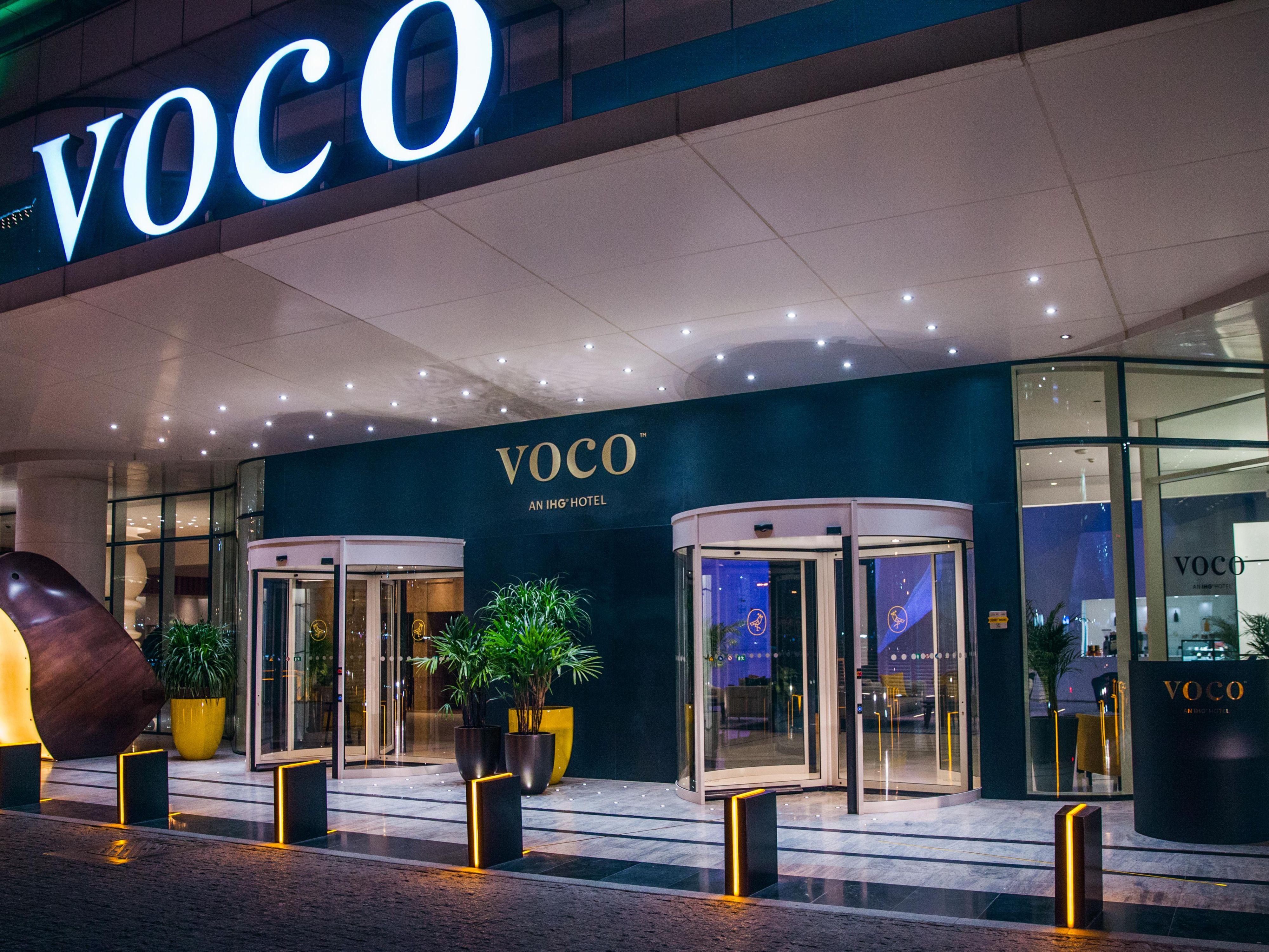 Voco Dubai Hotel 5 Star Hotel Near Dubai World Trade Center