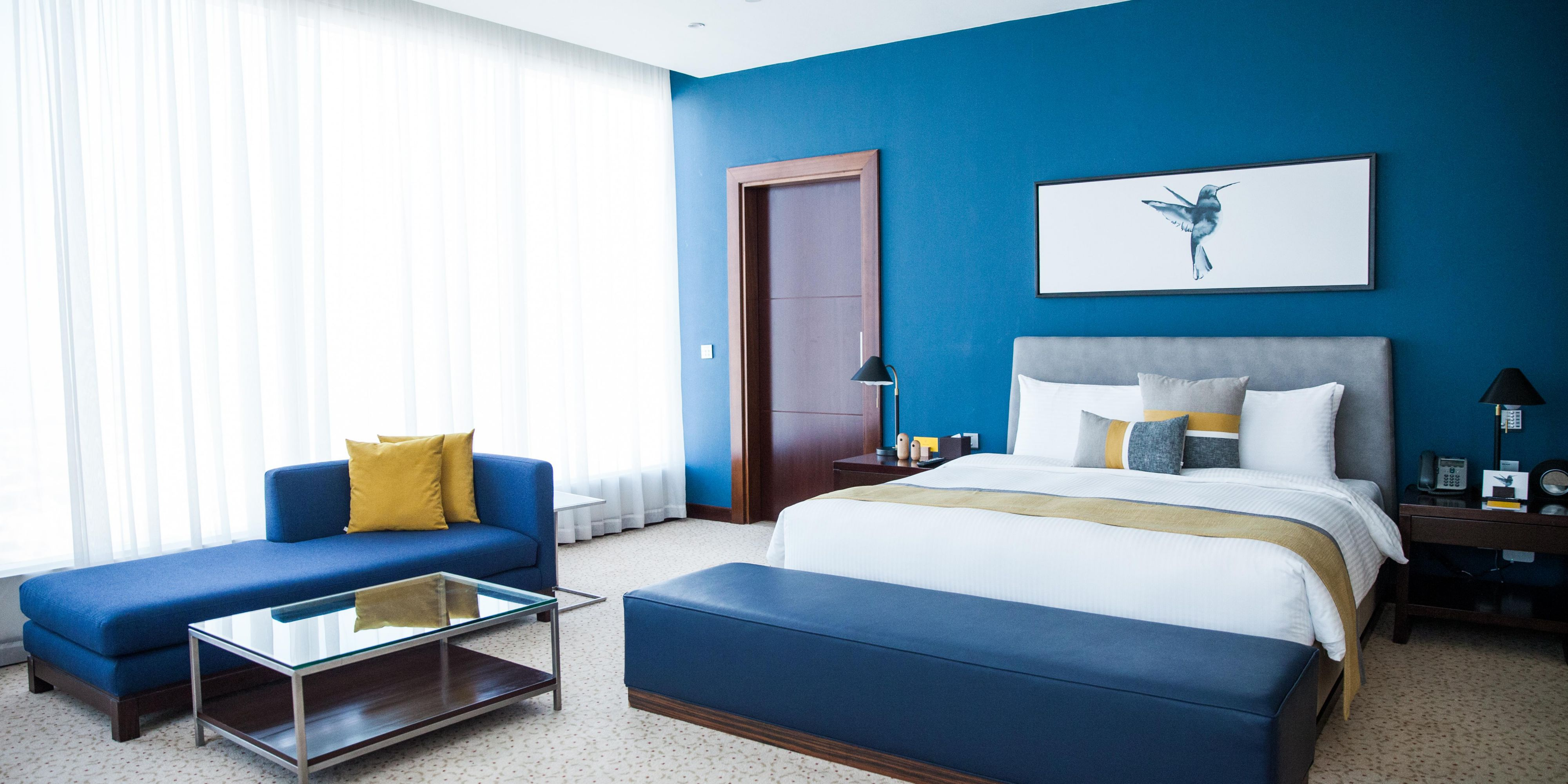Ambassador Suite with views of Sheikh Zayed Road or Jumeirah Beach