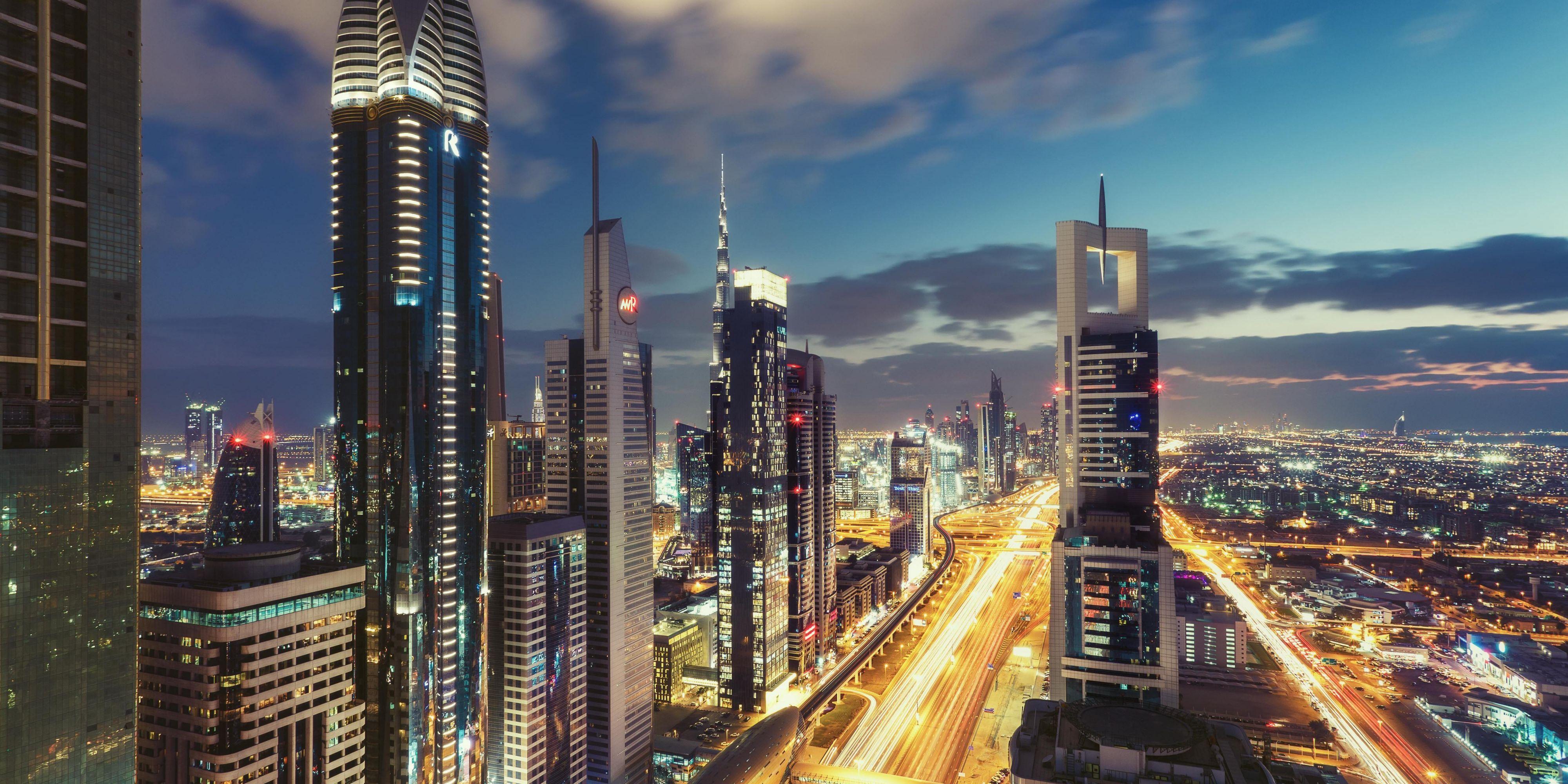 Fabulous views from voco Dubai Sheikh Zayed Road