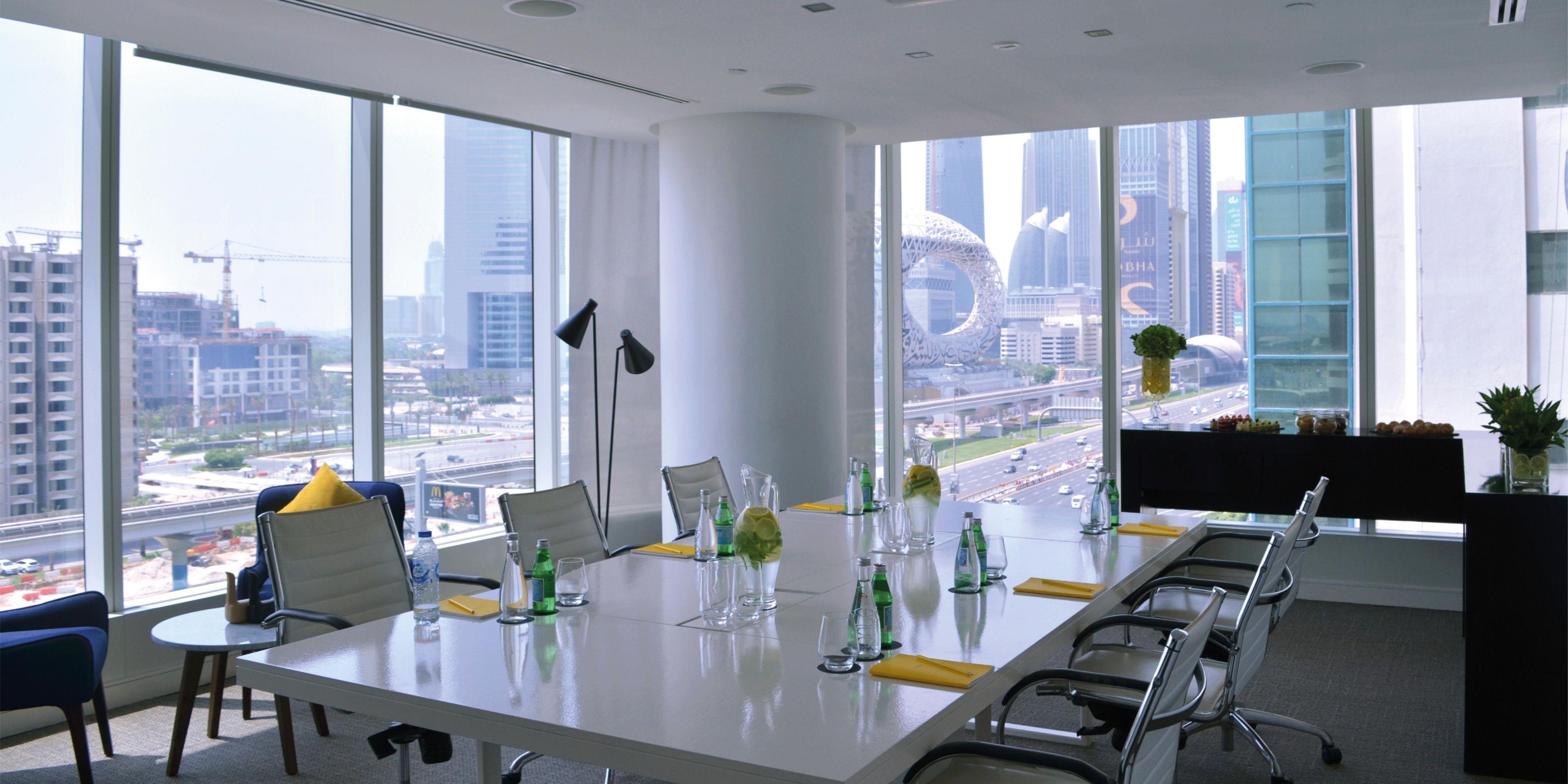 Congress Meeting Room, voco Dubai, Sheikh Zayed Road view