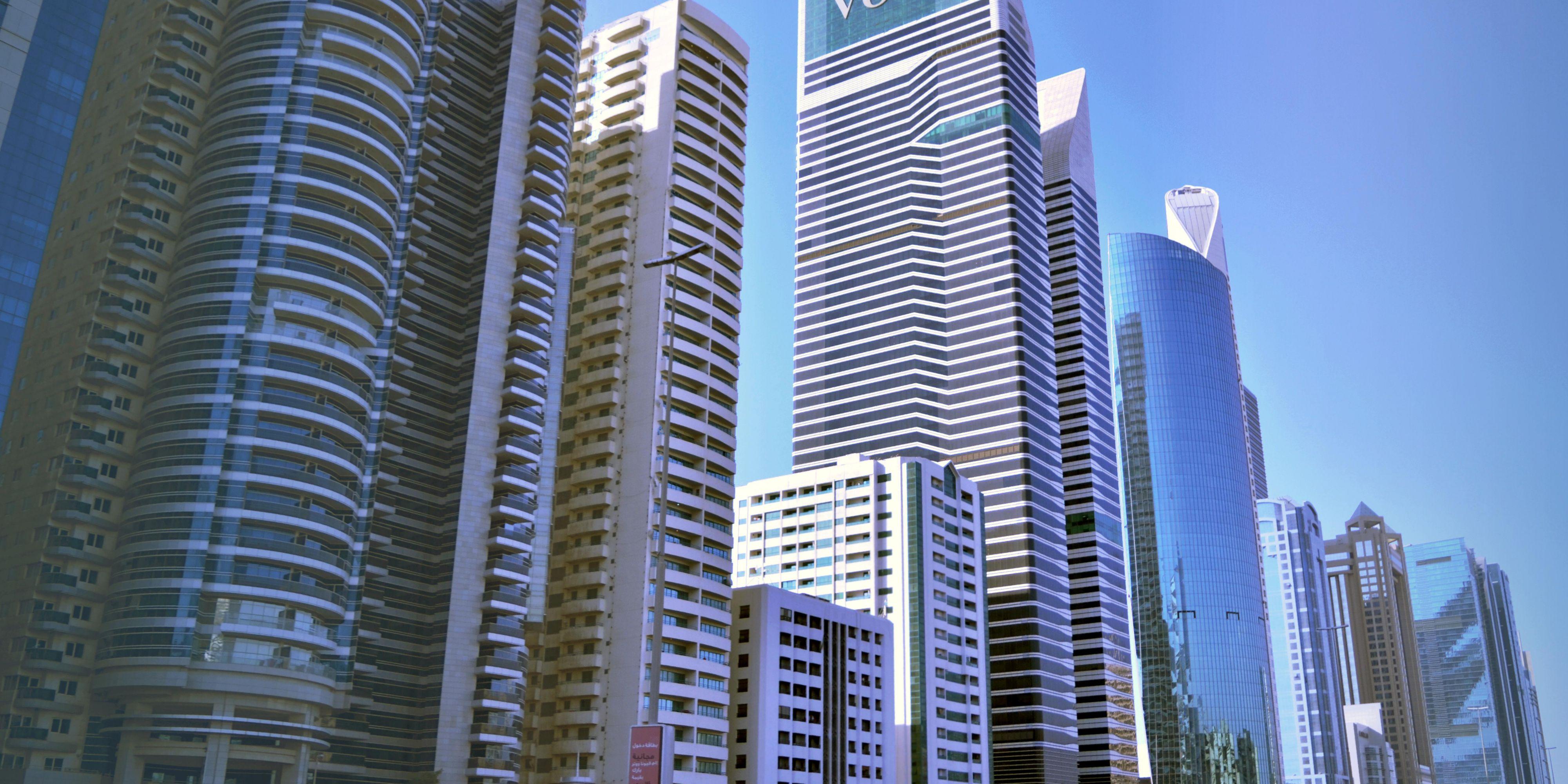 Exterior of voco Dubai, Sheikh Zayed Road, near DIFC