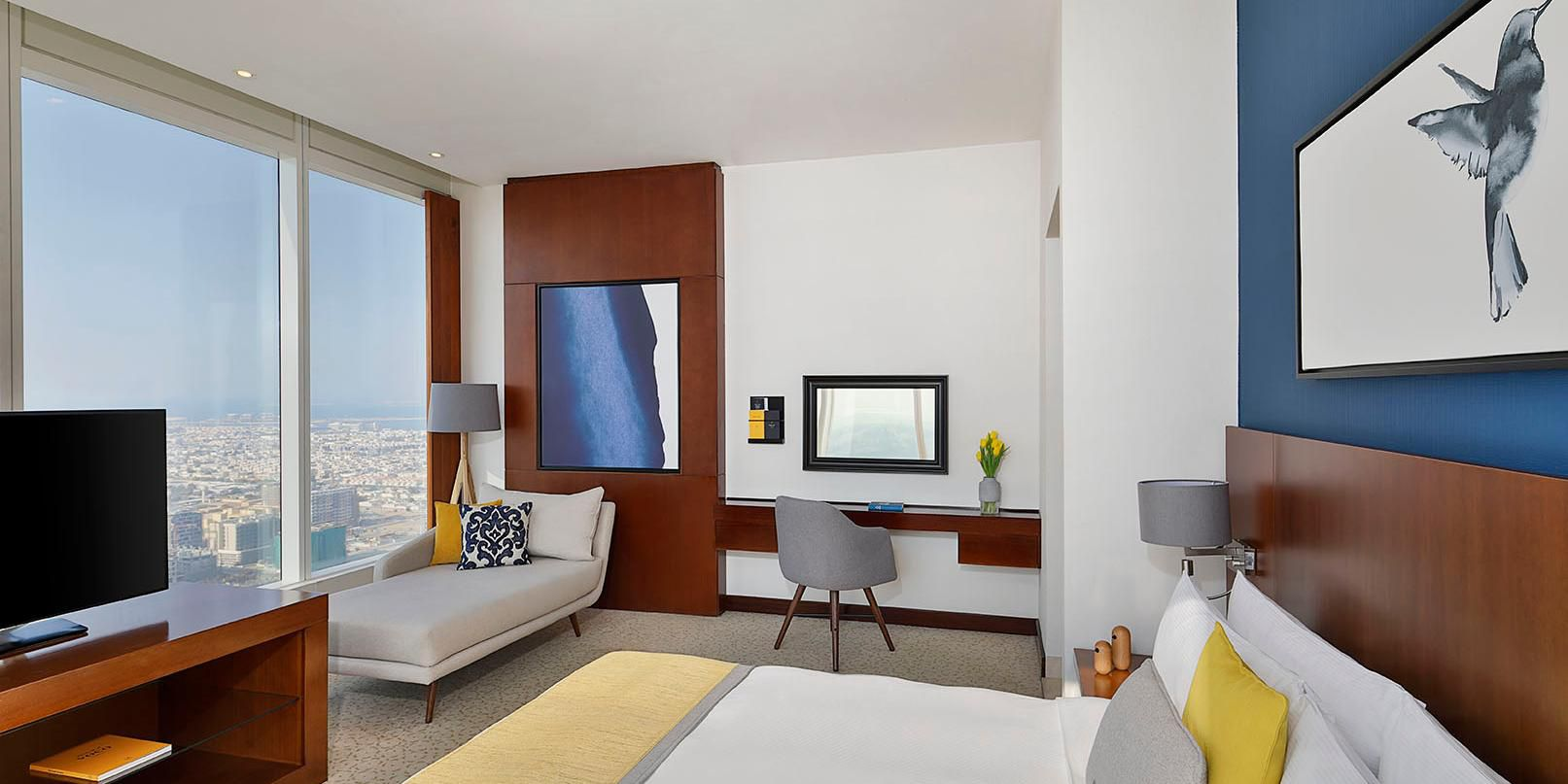 Deluxe Room with views of Sheikh Zayed Road or Jumeirah Beach