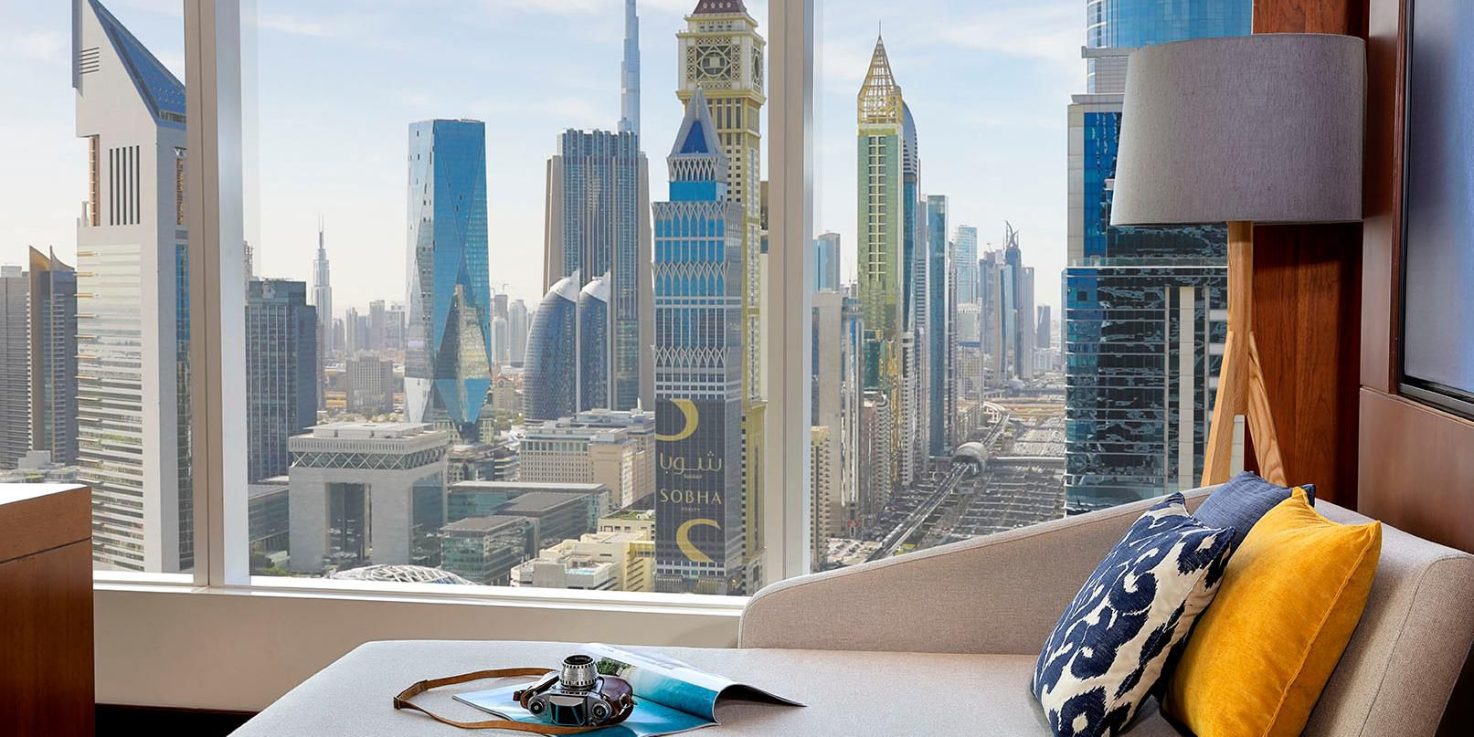 Deluxe Room with views of Sheikh Zayed Road, Dubai