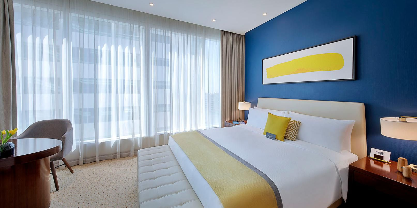 One Bedroom Suite, with city views of Sheikh Zayed Road