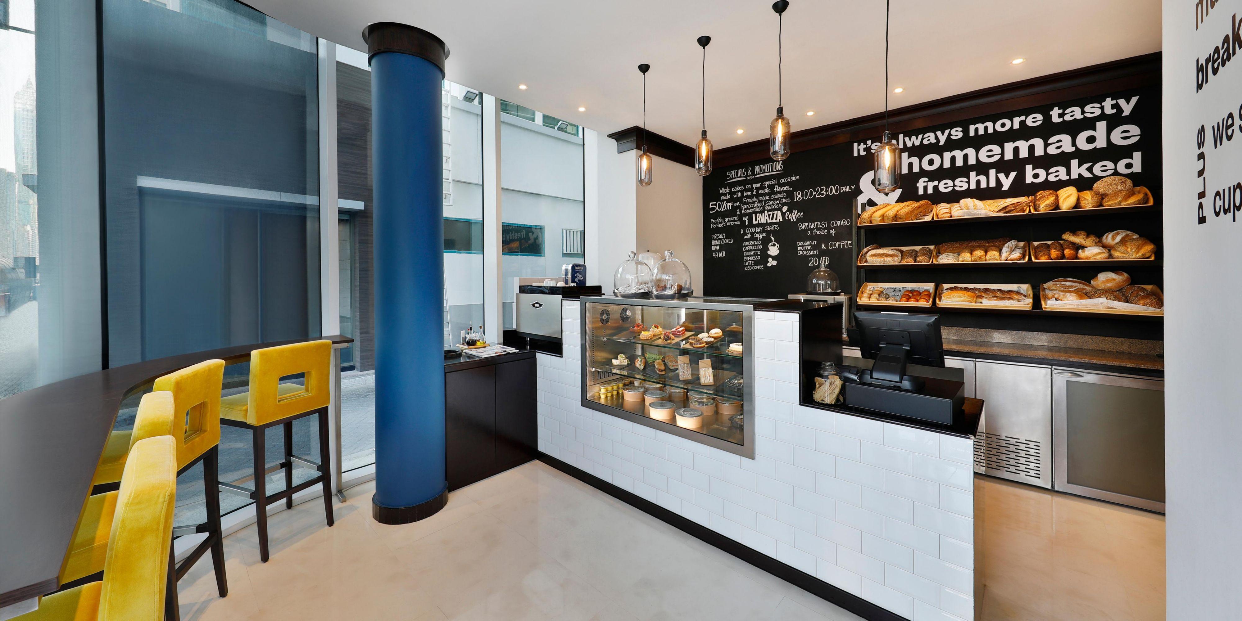 Corner Cafe, voco Dubai, Sheikh Zayed Road, Lavazza Coffee