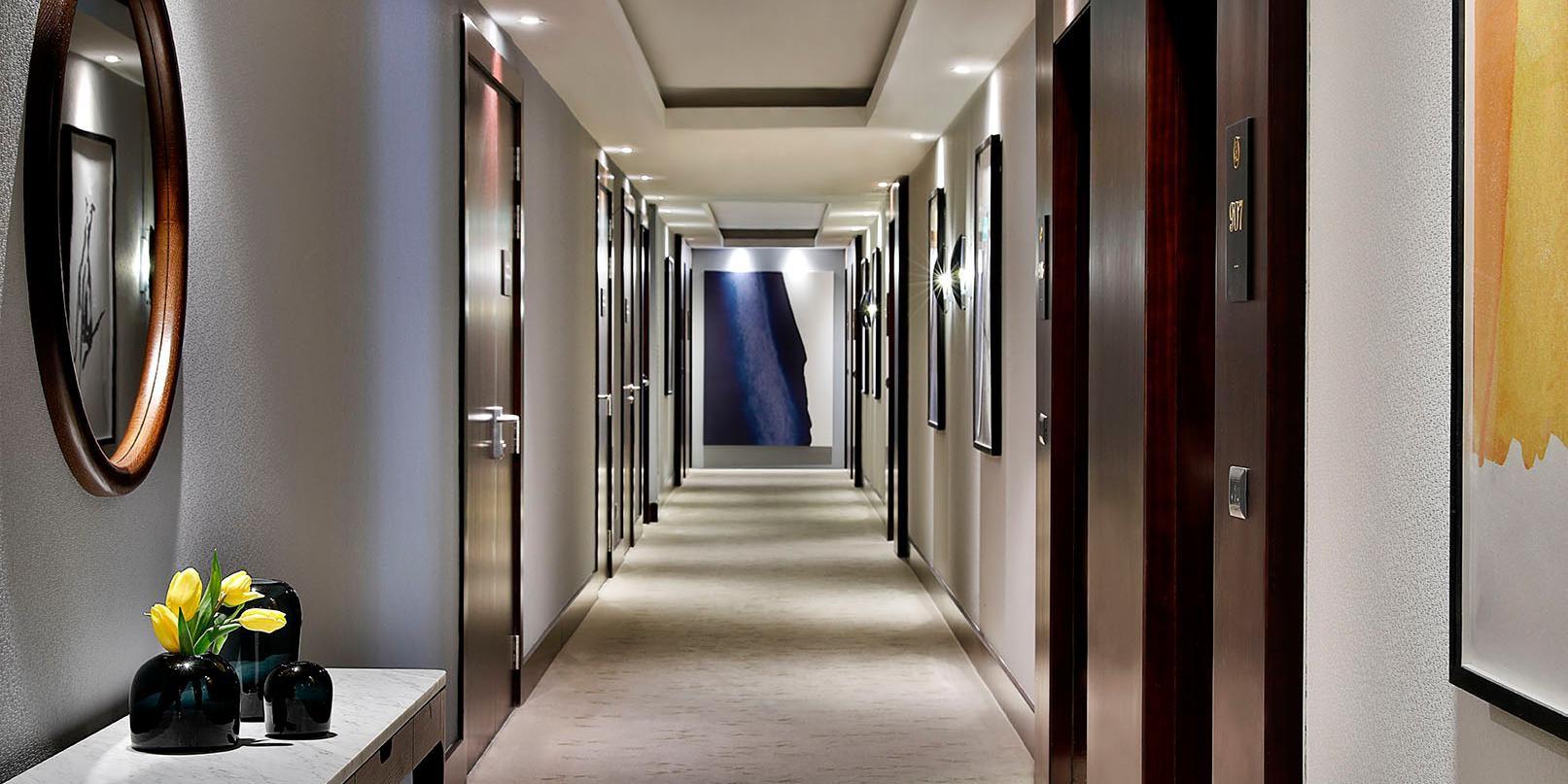 Room floors hallway, voco Dubai, Sheikh Zayed Road