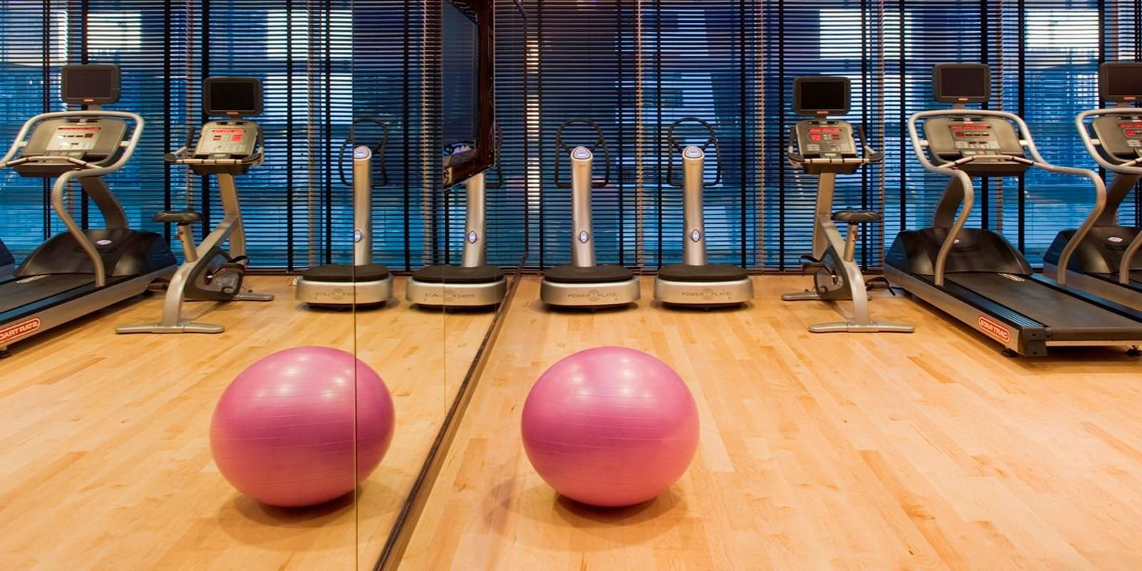 Enjoy our Fitness Center located on the 11th floor