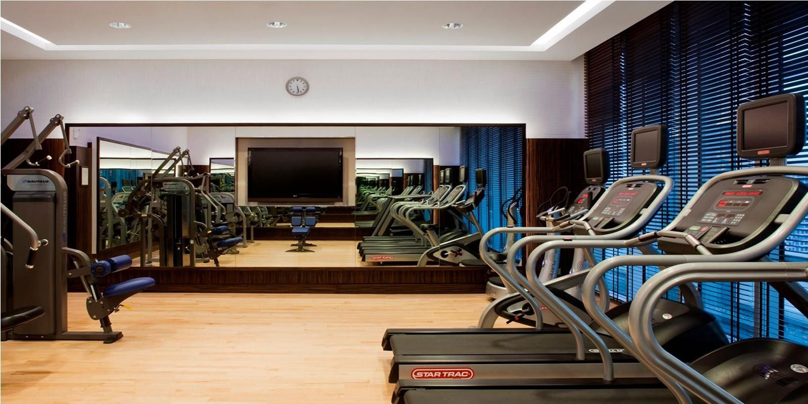 Hit the treadmills at our Fitness Center with top-class equipment