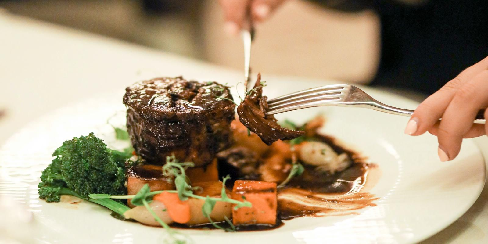 Try our delicious menu at The Cavendish Restaurant