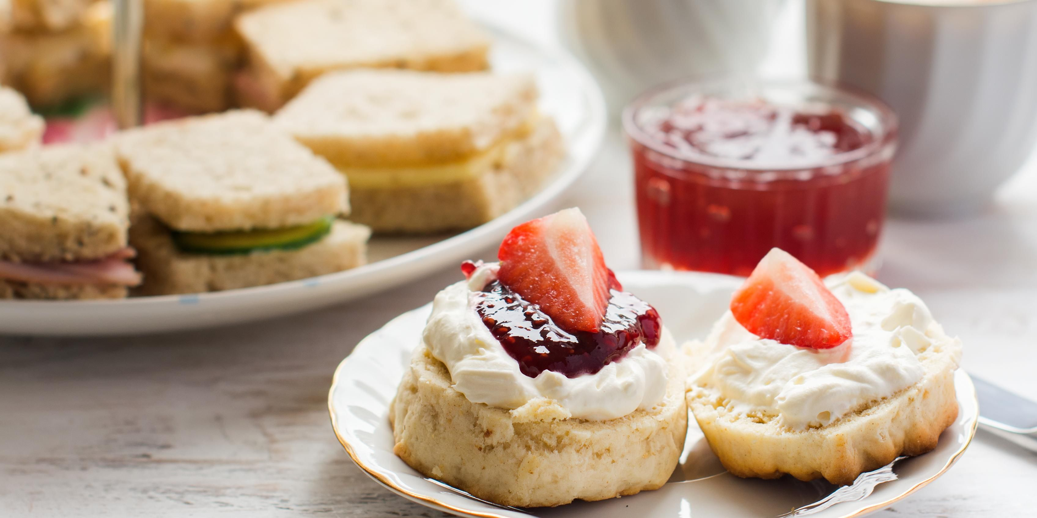 Afternoon tea at The Authors' Lounge